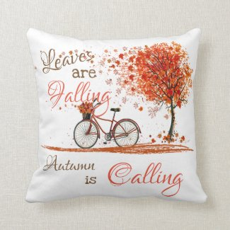 Autumn Leaves Throw Pillow Home Decor