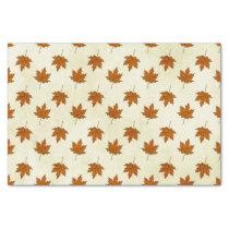 autumn leaves tissue paper