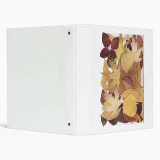 Autumn Leaves Vinyl Binder