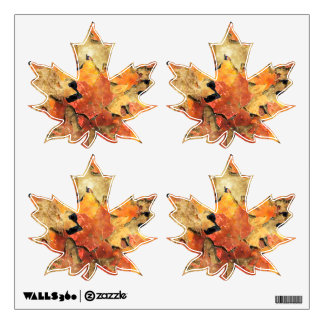 AUTUMN LEAVES Wall Decal