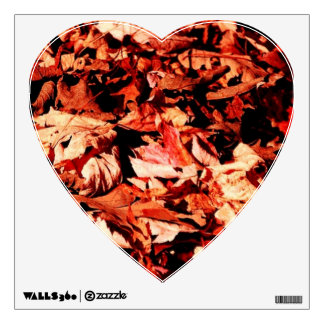 autumn leaves room decal