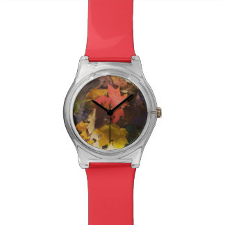 Autumn Leaves Watches