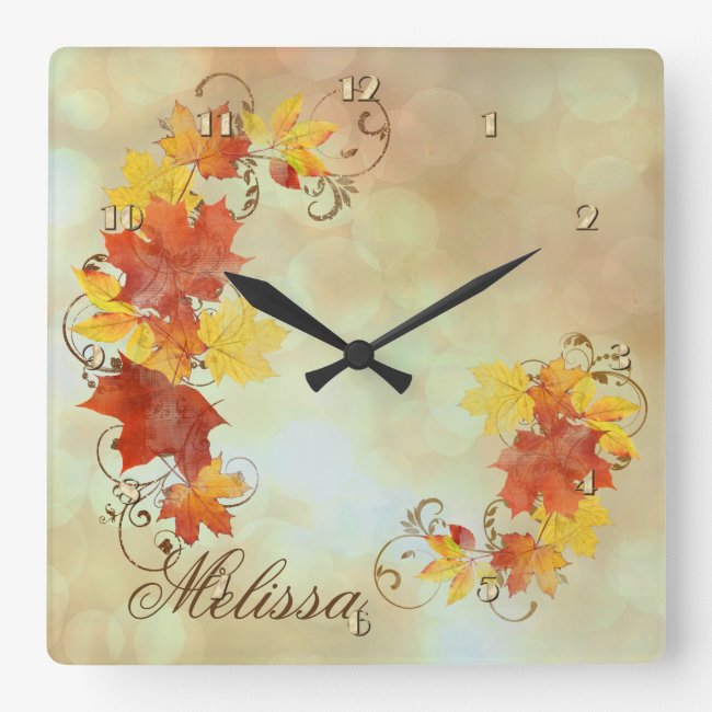 Autumn Leaves Watercolor ALWX