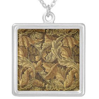 Autumn leaves William Morris pattern Custom Jewelry