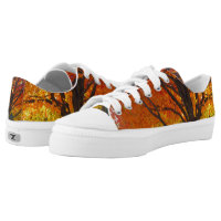 Autumn Leaves Zipz Low Top Adult Shoes
