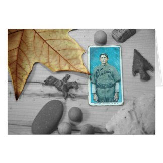 autumn leavings card