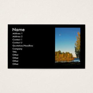Autumn Light Business Card