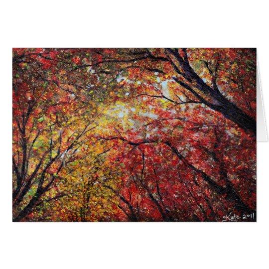 Autumn Light Card