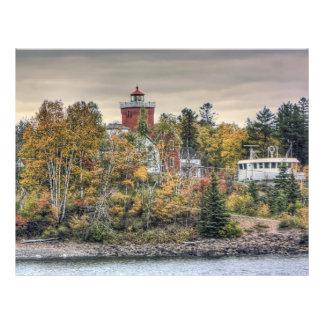 Autumn Lighthouse Flyer Design