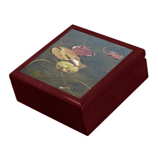 Autumn Lily Pads Gift Box