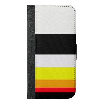 Autumn lines iPhone 6/6s plus wallet case