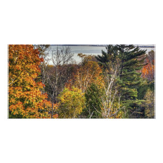 Autumn Lookout Personalized Photo Card