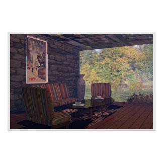 Autumn Lounge Posters