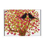 Autumn Love Birds iPad Mini Covers