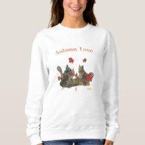 Autumn love chipmunks sweatshirt