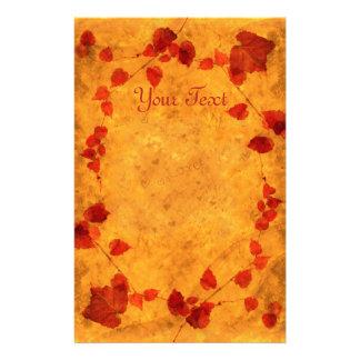 "Autumn ""Love"" Stationery"