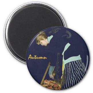 Autumn Magic 2 Inch Round Magnet