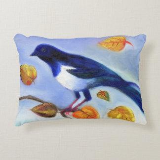Autumn Magpie 2012 Accent Pillow