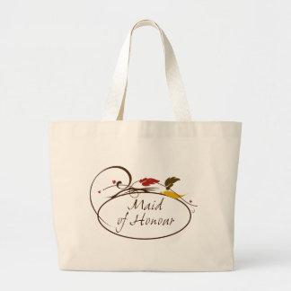 Autumn Maid of Honour Bags