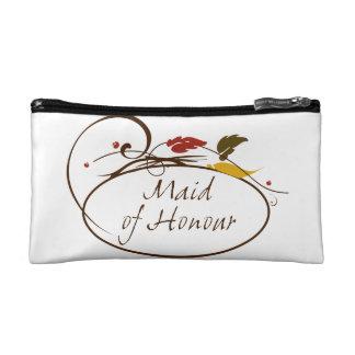 Autumn Maid of Honour Makeup Bag