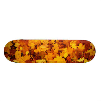 Autumn Maple Leafs Skate Boards