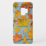 "Autumn Maple Leaves Case-Mate Samsung Galaxy S9 Case<br><div class=""desc"">This cool case features a photograph of various colorful fallen Autumn leaves. This item would make a truly wonderful gift for either her or him.</div>"