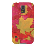 Autumn Maple Leaves Cases For Galaxy S5