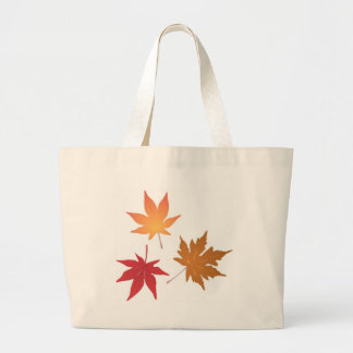 Autumn Maple Leaves Collection Canvas Bag