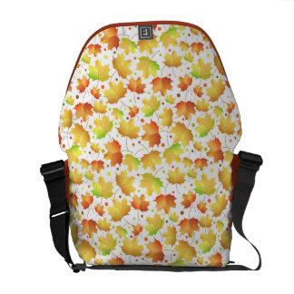 Autumn Maple leaves Courier Bag