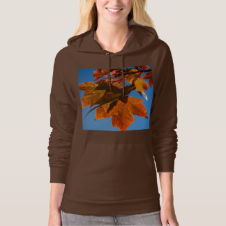 Autumn Maple Leaves Hoodie or T-Shirt