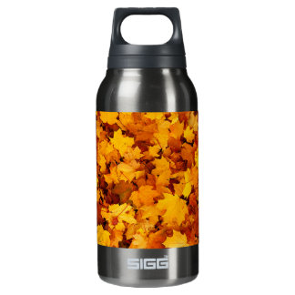 Autumn Maple Leaves Insulated Water Bottle