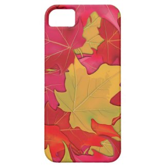 Autumn Maple Leaves iPhone 5 Covers