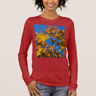 Autumn Maple Leaves Long Sleeve Shirt