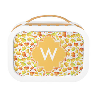 Autumn Maple leaves Lunch Box