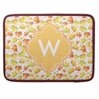 Autumn Maple leaves Sleeves For MacBook Pro