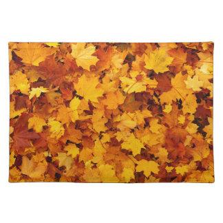 Autumn Maple Leaves Place Mats