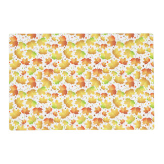 Autumn Maple leaves Placemat