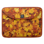 Autumn Maple Leaves Sleeve For MacBooks