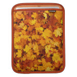 Autumn Maple Leaves Sleeves For iPads