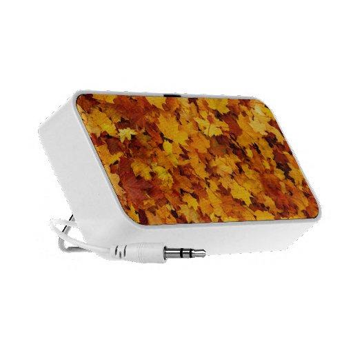 Autumn Maple Leaves Speaker