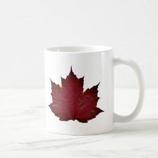 Autumn Maple - Red Coffee Mug