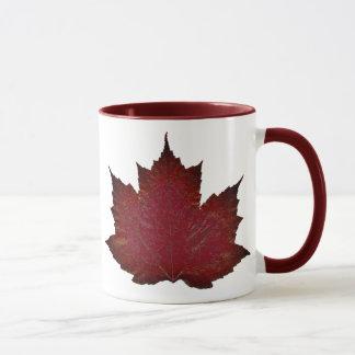 Autumn Maple - Red Mug