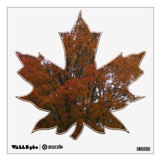 Autumn Maple Tree Wall Decal