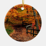 Autumn Mccormick Creek State Park Indiana Christmas Tree Ornament