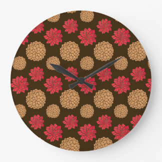 Autumn Melody Large Clock