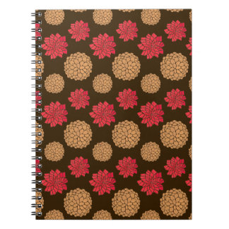Autumn Melody Spiral Note Books