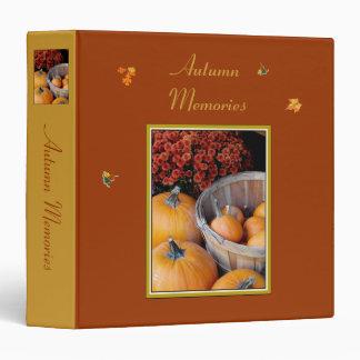 'Autumn Memories' Binder/Album 3 Ring Binder
