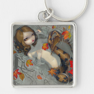 """Autumn Mermaid"" Keychain"