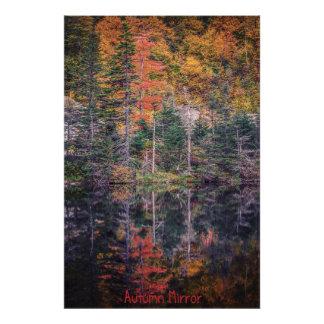 Autumn Mirror Photograph