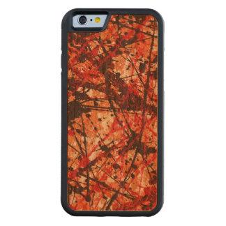 AUTUMN MIX (an abstract art design) ~ Carved Cherry iPhone 6 Bumper Case